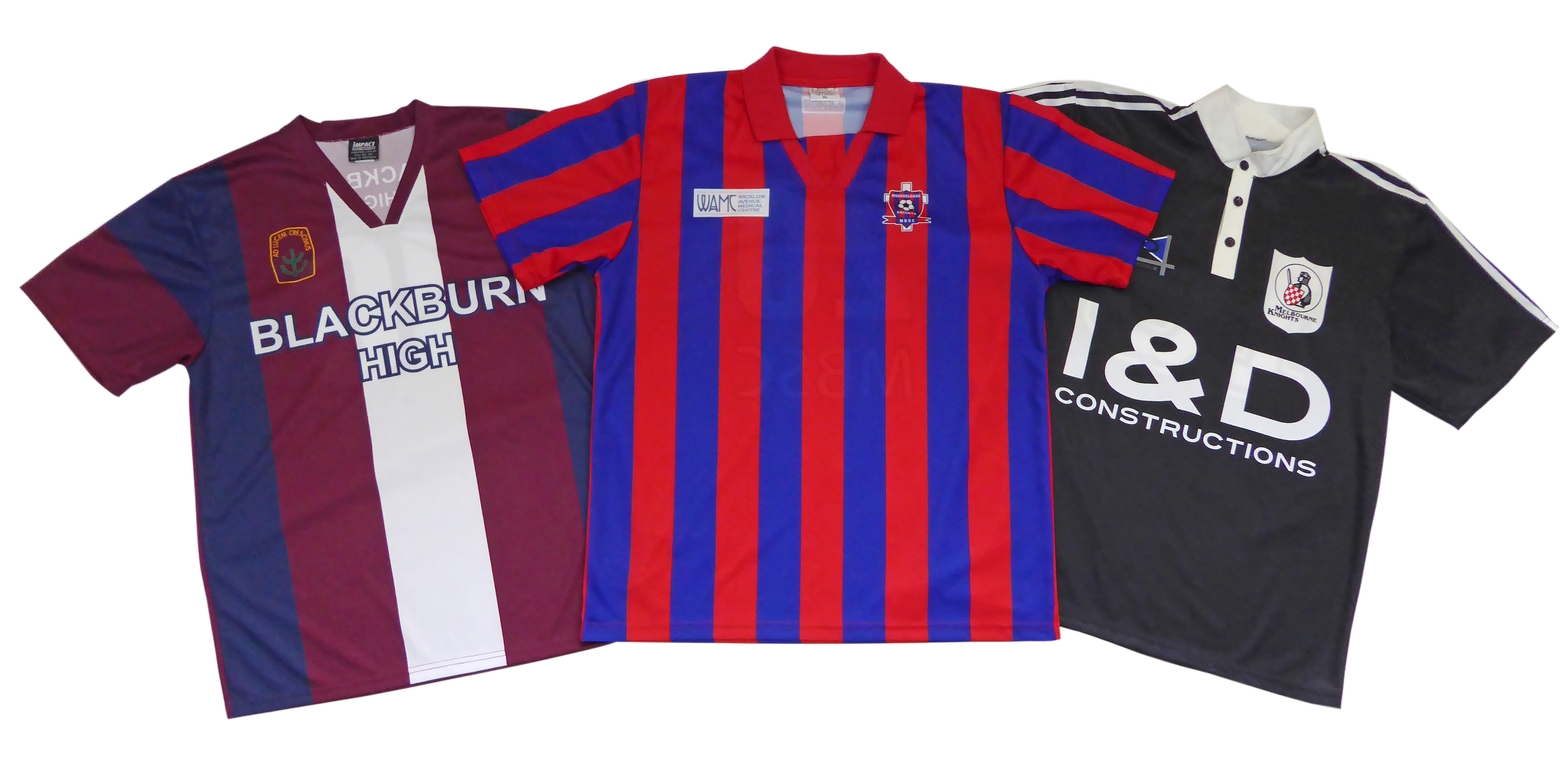 Soccer uniforms in a variety of designs 5d75e6251